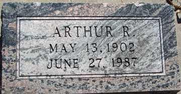 ANDERSON, ARTHUR  R. - Minnehaha County, South Dakota   ARTHUR  R. ANDERSON - South Dakota Gravestone Photos