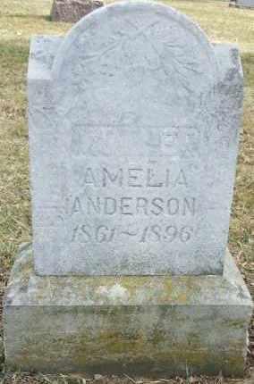 ANDERSON, AMELIA - Minnehaha County, South Dakota | AMELIA ANDERSON - South Dakota Gravestone Photos