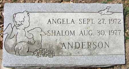 ANDERSON, ANGELA SHALOM - Minnehaha County, South Dakota   ANGELA SHALOM ANDERSON - South Dakota Gravestone Photos