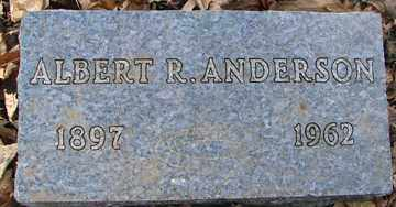 ANDERSON, ALBERT R. - Minnehaha County, South Dakota | ALBERT R. ANDERSON - South Dakota Gravestone Photos
