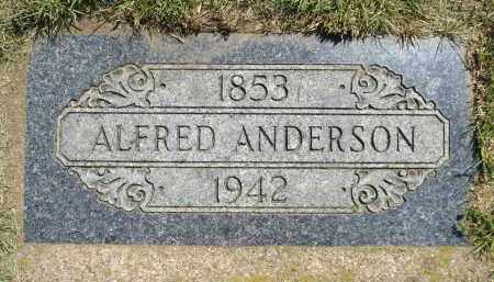 ANDERSON, ALFRED - Minnehaha County, South Dakota   ALFRED ANDERSON - South Dakota Gravestone Photos