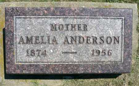 ANDERSON, AMELIA - Minnehaha County, South Dakota | AMELIA ANDERSON - South Dakota Gravestone Photos
