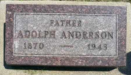 ANDERSON, ADOLPH - Minnehaha County, South Dakota | ADOLPH ANDERSON - South Dakota Gravestone Photos