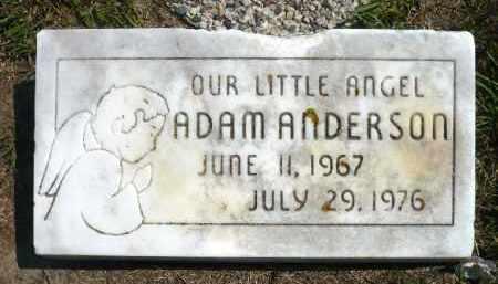 ANDERSON, ADAM - Minnehaha County, South Dakota | ADAM ANDERSON - South Dakota Gravestone Photos