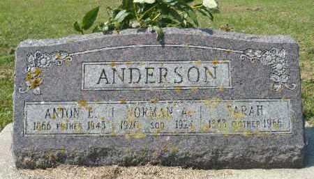 ANDERSON, ANTON E. - Minnehaha County, South Dakota | ANTON E. ANDERSON - South Dakota Gravestone Photos
