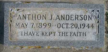 ANDERSON, ANTHON J. - Minnehaha County, South Dakota | ANTHON J. ANDERSON - South Dakota Gravestone Photos