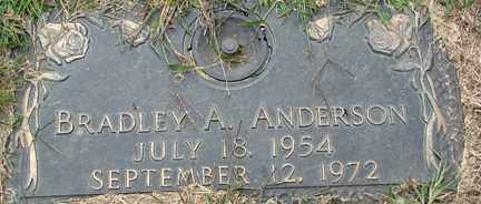 ANDERSON, BRADLEY A. - Minnehaha County, South Dakota | BRADLEY A. ANDERSON - South Dakota Gravestone Photos