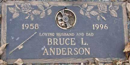 ANDERSON, BRUCE L. - Minnehaha County, South Dakota | BRUCE L. ANDERSON - South Dakota Gravestone Photos