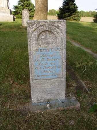ANDERSON, BERNY J. - Minnehaha County, South Dakota | BERNY J. ANDERSON - South Dakota Gravestone Photos