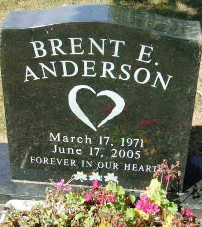 ANDERSON, BRENT EDWARD - Minnehaha County, South Dakota | BRENT EDWARD ANDERSON - South Dakota Gravestone Photos