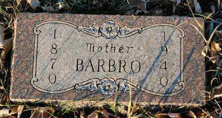 ANDERSON, BARBRO - Minnehaha County, South Dakota | BARBRO ANDERSON - South Dakota Gravestone Photos