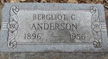 ANDERSON, BERGLIOT   C. - Minnehaha County, South Dakota | BERGLIOT   C. ANDERSON - South Dakota Gravestone Photos