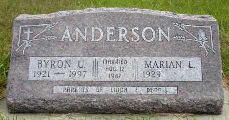 ANDERSON, MARIAN L. - Minnehaha County, South Dakota | MARIAN L. ANDERSON - South Dakota Gravestone Photos
