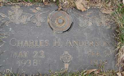 ANDERSON, CHARLES H. - Minnehaha County, South Dakota | CHARLES H. ANDERSON - South Dakota Gravestone Photos