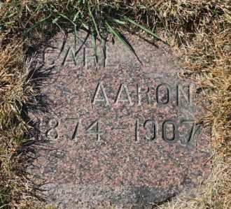 ANDERSON, CARL AARON - Minnehaha County, South Dakota | CARL AARON ANDERSON - South Dakota Gravestone Photos