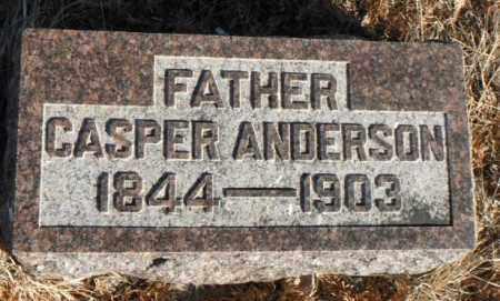 ANDERSON, CASPER - Minnehaha County, South Dakota   CASPER ANDERSON - South Dakota Gravestone Photos
