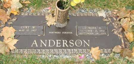ANDERSON, GEORGIA H. - Minnehaha County, South Dakota | GEORGIA H. ANDERSON - South Dakota Gravestone Photos