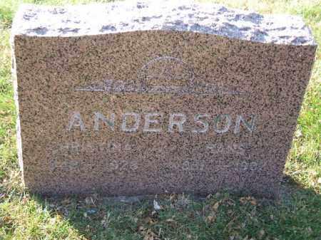 ANDERSON, CHRISTINA - Minnehaha County, South Dakota   CHRISTINA ANDERSON - South Dakota Gravestone Photos