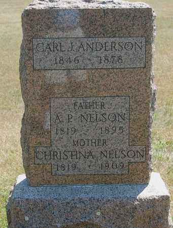 ANDERSON, CARL J. - Minnehaha County, South Dakota | CARL J. ANDERSON - South Dakota Gravestone Photos