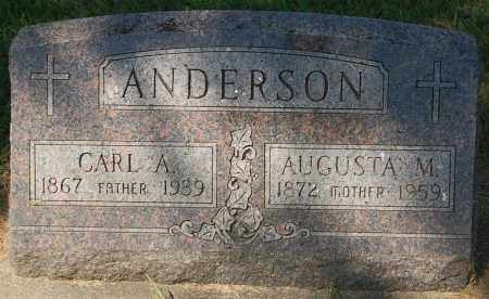 ANDERSON, AUGUSTA M. - Minnehaha County, South Dakota | AUGUSTA M. ANDERSON - South Dakota Gravestone Photos