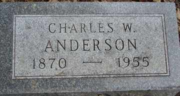 ANDERSON, CHARLES W. - Minnehaha County, South Dakota | CHARLES W. ANDERSON - South Dakota Gravestone Photos
