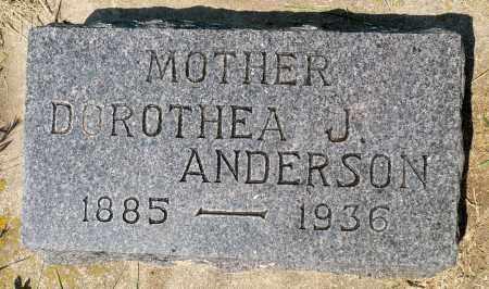 ANDERSON, DOROTHEA J. - Minnehaha County, South Dakota | DOROTHEA J. ANDERSON - South Dakota Gravestone Photos