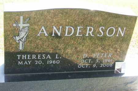 ANDERSON, D. PETER - Minnehaha County, South Dakota | D. PETER ANDERSON - South Dakota Gravestone Photos