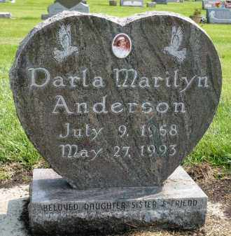ANDERSON, DARLA MARILYN - Minnehaha County, South Dakota | DARLA MARILYN ANDERSON - South Dakota Gravestone Photos