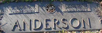 ANDERSON, EDWIN P. - Minnehaha County, South Dakota | EDWIN P. ANDERSON - South Dakota Gravestone Photos