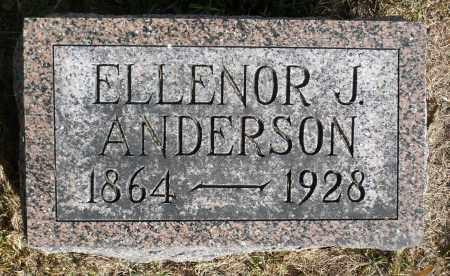 ANDERSON, ELLENOR J. - Minnehaha County, South Dakota | ELLENOR J. ANDERSON - South Dakota Gravestone Photos