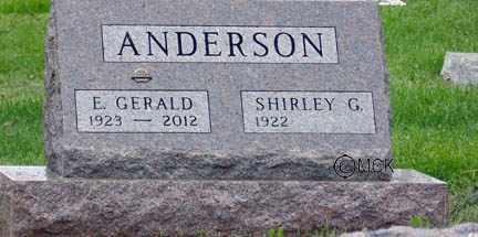 ANDERSON, SHIRLEY G. - Minnehaha County, South Dakota | SHIRLEY G. ANDERSON - South Dakota Gravestone Photos