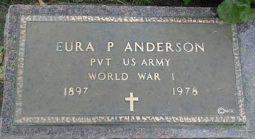 ANDERSON, EURA P. - Minnehaha County, South Dakota | EURA P. ANDERSON - South Dakota Gravestone Photos