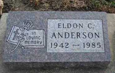 ANDERSON, ELDON C. - Minnehaha County, South Dakota | ELDON C. ANDERSON - South Dakota Gravestone Photos