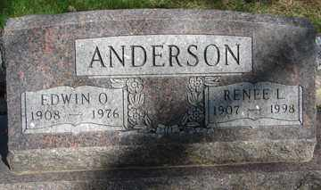 ANDERSON, EDWIN O. - Minnehaha County, South Dakota | EDWIN O. ANDERSON - South Dakota Gravestone Photos