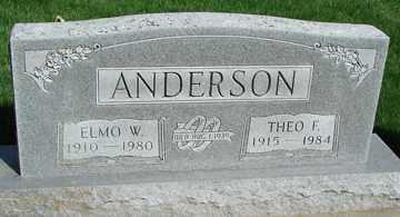 ANDERSON, THEO F. - Minnehaha County, South Dakota | THEO F. ANDERSON - South Dakota Gravestone Photos