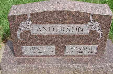 ANDERSON, VENARD - Minnehaha County, South Dakota | VENARD ANDERSON - South Dakota Gravestone Photos