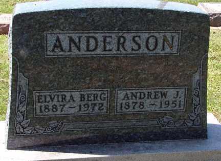 ANDERSON, ANDREW J. - Minnehaha County, South Dakota | ANDREW J. ANDERSON - South Dakota Gravestone Photos