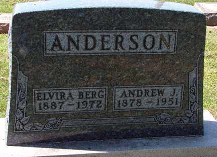 ANDERSON, ANDREW J. - Minnehaha County, South Dakota | ANDREW J. ANDERSON - South Dakota Gravestone Photos