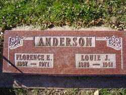 ANDERSON, FLORENCE E. - Minnehaha County, South Dakota | FLORENCE E. ANDERSON - South Dakota Gravestone Photos