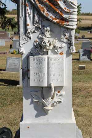 ANDERSON, FRANK G. - Minnehaha County, South Dakota   FRANK G. ANDERSON - South Dakota Gravestone Photos