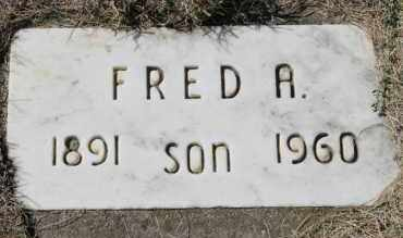 ANDERSON, FRED A. - Minnehaha County, South Dakota | FRED A. ANDERSON - South Dakota Gravestone Photos