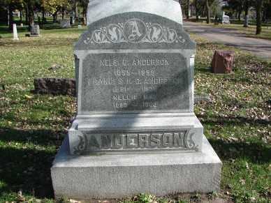 ANDERSON, FRANCIS N.C. - Minnehaha County, South Dakota | FRANCIS N.C. ANDERSON - South Dakota Gravestone Photos