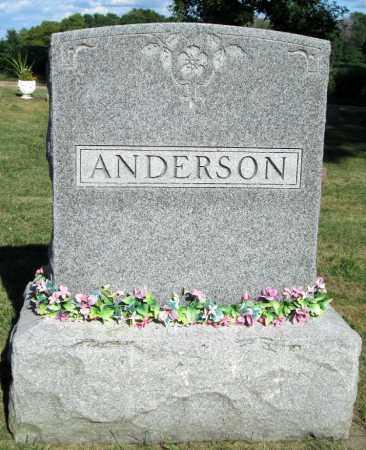 ANDERSON, FAMILY MARKER - Minnehaha County, South Dakota | FAMILY MARKER ANDERSON - South Dakota Gravestone Photos