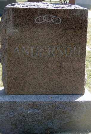 ANDERSON, FAMILY MARKER - Minnehaha County, South Dakota | FAMILY MARKER ANDERSON - South Dakota Gravestone Photos