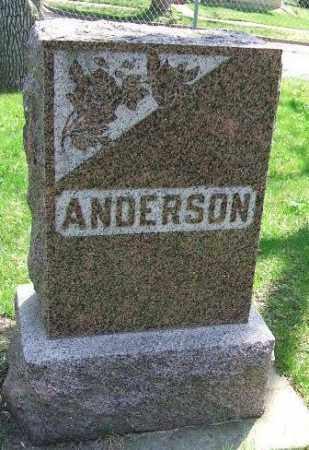 ANDERSON, FAMILY STONE - Minnehaha County, South Dakota | FAMILY STONE ANDERSON - South Dakota Gravestone Photos