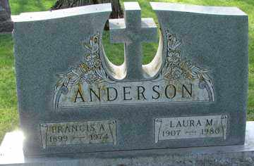 ANDERSON, LAURA M. - Minnehaha County, South Dakota | LAURA M. ANDERSON - South Dakota Gravestone Photos