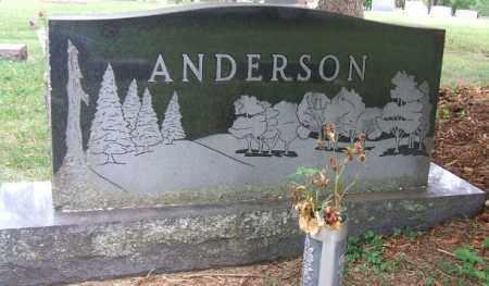 ANDERSON, FAMILY STONE - Minnehaha County, South Dakota   FAMILY STONE ANDERSON - South Dakota Gravestone Photos