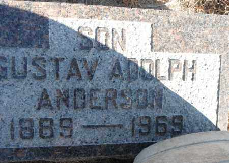 ANDERSON, GUSTAV ADOLPH - Minnehaha County, South Dakota | GUSTAV ADOLPH ANDERSON - South Dakota Gravestone Photos