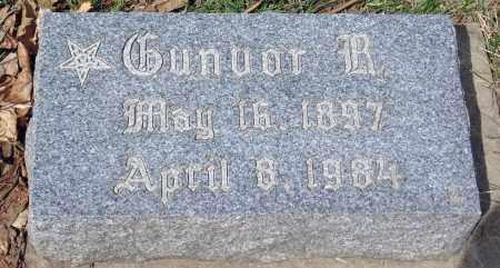 ANDERSON, GUNVOR R. - Minnehaha County, South Dakota   GUNVOR R. ANDERSON - South Dakota Gravestone Photos