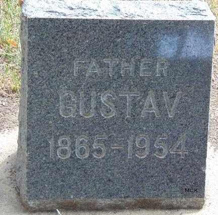 ANDERSON, GUSTAV - Minnehaha County, South Dakota   GUSTAV ANDERSON - South Dakota Gravestone Photos